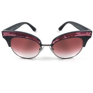 Dolce & Gabbana Embellished Cat Eye Sunglasses NWT